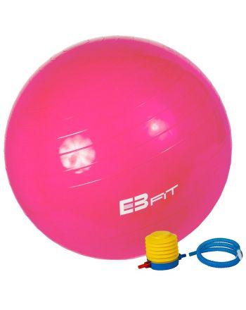 Piłka fitness antyburst EB FIT 75 z pompką 1029450