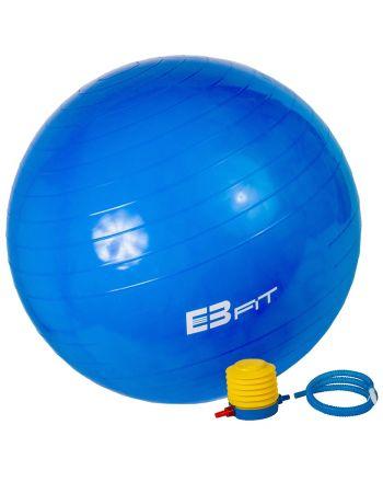 Piłka fitness EB FIT 65 z pompką 1029467