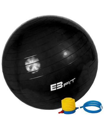 Piłka fitness antyburst EB FIT 85 z pompką 1029474