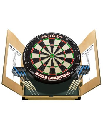 Tarcza Dart sizalowa Target World Champion Dart w gablotce