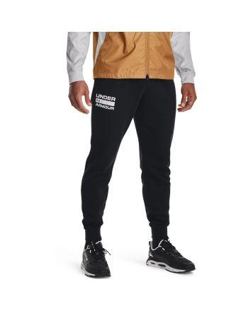 Spodnie UA RIVAL FLC SIGNATURE JGR 1366366 001
