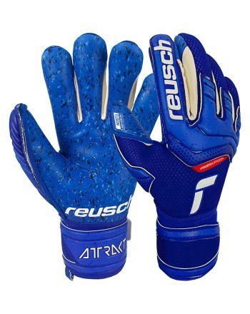 Rękawice bramkarskie Reusch Attrakt Fusion Finger Support 51 70 940 4010