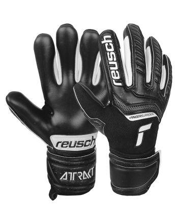 Rękawice bramkarskie Reusch Attrakt Infinity Finger Support Junior 51 72 730 7700
