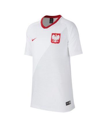 Koszulka Reprezentacji Polski Nike Y FTBL TOP SS Home 894013 100