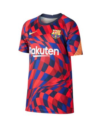Koszulka Nike FC Barcelona Y NK DRY TOP SS PM CD5861 658