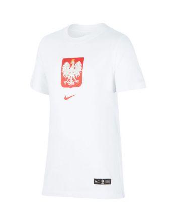 Koszulka Nike Poland B Tee Evergreen Crest CU1212 100