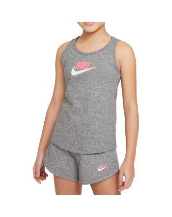 Koszulka Nike Sportswear Big Kids' (Girls') Jersey Tank DA1386 091