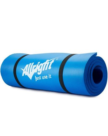Mata do fitnessu NBR 180x60x1,5 Blue