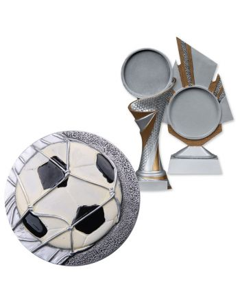 Emblemat Blaze piłka nożna Biemans 70mm