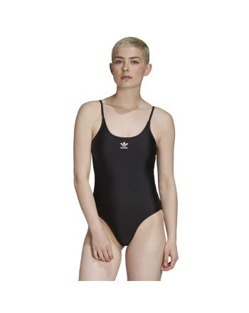Kostium kąpielowy adidas Originals Large Logo Swimsuit GD2420