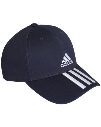 Czapka adidas Baseball 3 Stripes Cap Cotton Twill GE0750