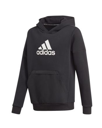Bluza adidas Boys Badge of Sport Fleece Hoodie GJ6675