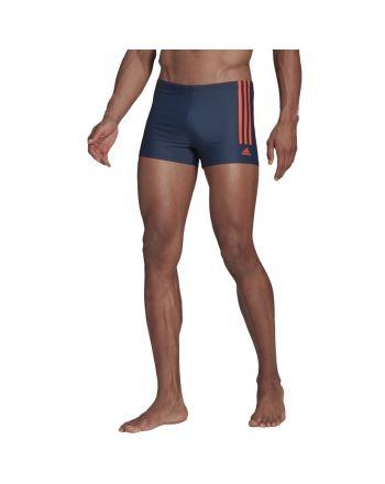 Kąpielówki adidas Fitness Semi 3-Stripes Boxer GM3560