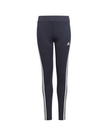 Legginsy adidas Girls D2M 3 Stripes Tight GN1452