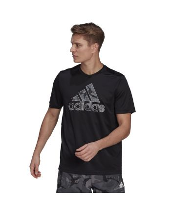 Koszulka adidas Men D2M Camo Graphic T-Shirt 2 GP2659
