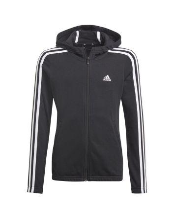 Bluza adidas Girls Essentials 3S Full-zip Hoodie GQ8356