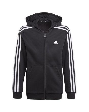 Bluza adidas Boys Essentials 3S Full-zip Hoodie GQ8900