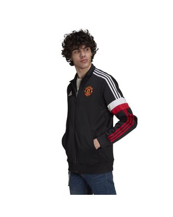 Bluza adidas Manchester United 3-Stripes Track Top GR3888