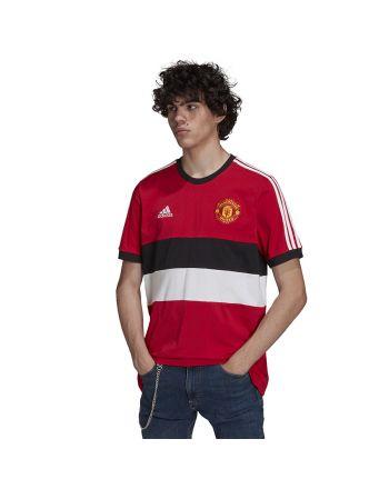 Koszulka adidas Manchester United 3- Stripes Tee GR3895