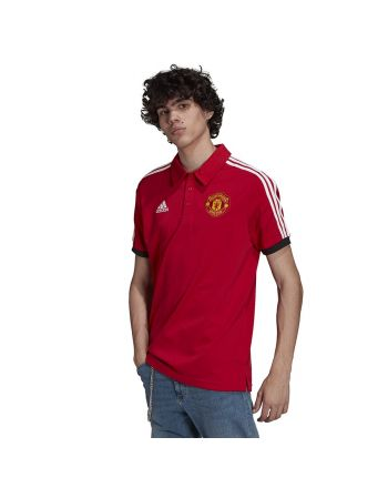 Koszulka adidas Manchester United 3- Stripes Polo GR3898