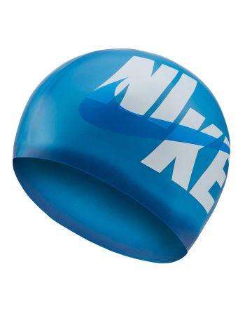 Czepek pływacki Nike Logo Cap NESSA203 424