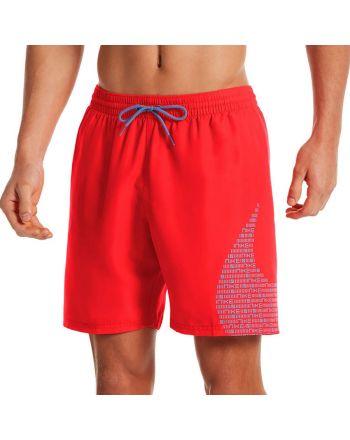 "Szorty Nike Volley Swim Trunks Matrix Logo 7"" NESSA521 633"