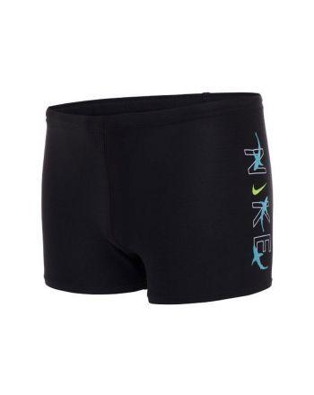 Kąpielówki Nike Logo Square Leg YB NESSB852 001