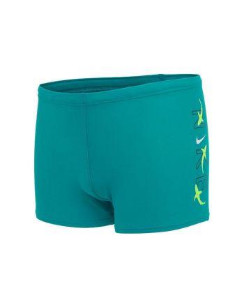 Kąpielówki Nike Logo Square Leg YB NESSB852 345