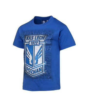 Koszulka dziecięca Herb Kibice niebieska