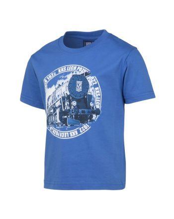 Koszulka dziecięca Lokomotywa niebieska