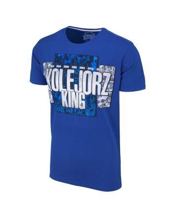 Koszulka Kolejorz King Niebieska