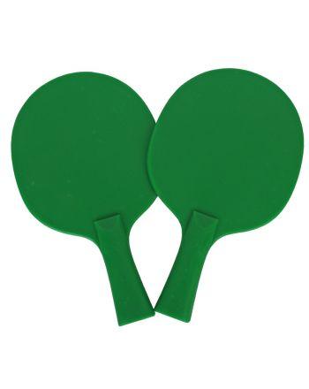 Rakietki do p-ponga zielone