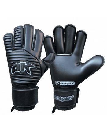 Rękawice 4keepers Retro Black III Roll Finger + płyn S753400