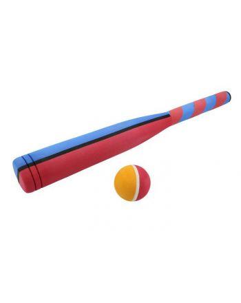 Kij baseball piankowy z piłką