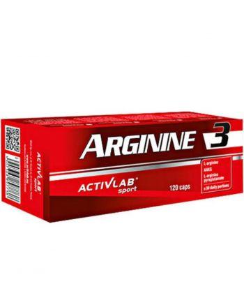 ACTIVLAB - ARGININE 3 / KARTONIK  [120 KAPSUŁEK]