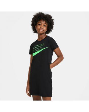 Sukienka Nike Girls Sportswear T-Shirt Dress CU8375 011