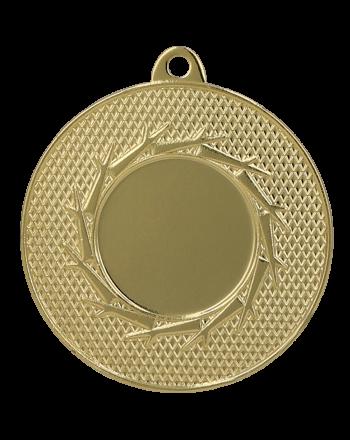 Medal złoty ogólny z miejscem na emblemat 25 mm - medal stalowy