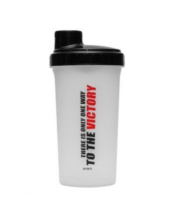 "BELTOR SHAKER 0.7L SEMI-TRANS/BLACK ""THERE IS ONLY ONE WHEY TO THE VICOTRY"