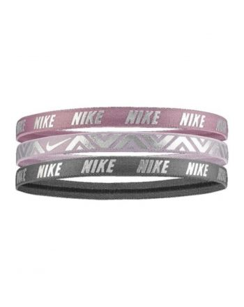 OPASKI NIKE METALLIC HAIRBANDS  N.000.2504.917.OS