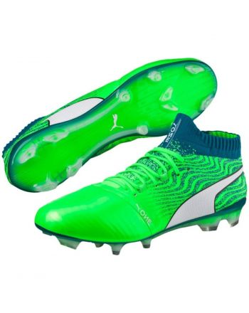 BUTY PUMA ONE 18.1 FG GREEN GECKO 104527 06