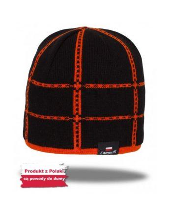 czapka Campus GALIBIER czarny-pomarańczowy