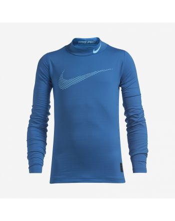 Koszulka Nike Warm Top LS Mock GFX 856134 435