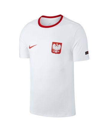 Koszulka Reprezentacji Polski Nike Pol M NK Tee Crest 888354 100