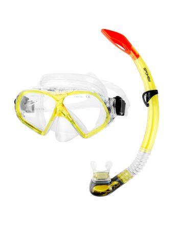 SPOKEY FLONA - zestaw do nurkowania maska + fajka