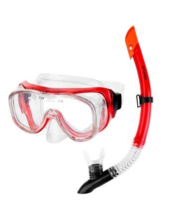 SPOKEY LUZON - zestaw do nurkowania maska + fajka