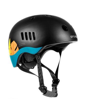 Spokey PUMPTRACK - Kask rowerowy BMX