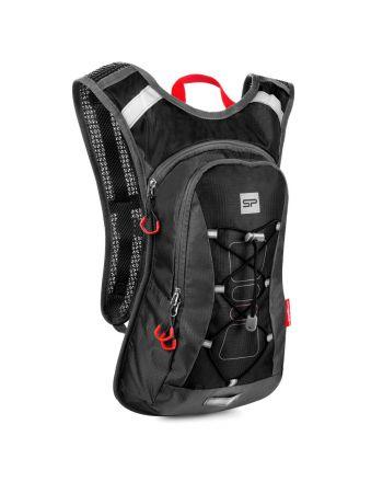 Spokey OTARO  - Plecak rowerowy; 10l; BK/RD
