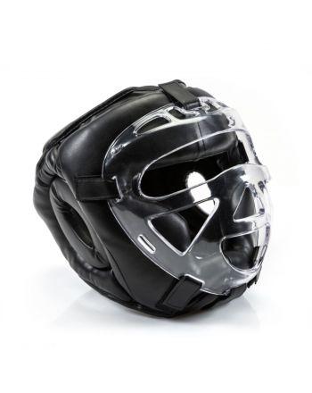 Kask bokserski z maską