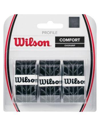 OWIJKA NA RAKIETY WILSON PROFILE BLACK OVERGRIP WRZ4025BK