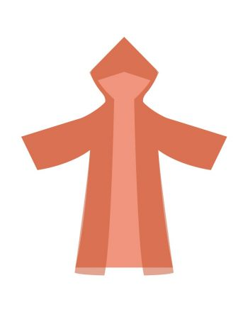 Płaszcz przeciwdeszczowy Olex młodz. mix kolorów